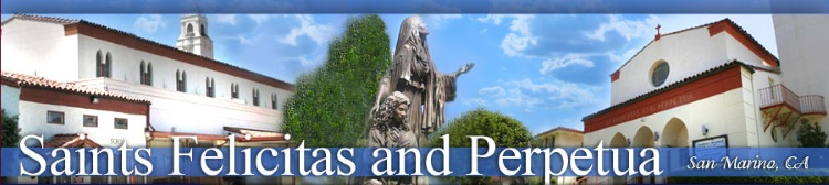Saints Felicitas and Perpetua logo