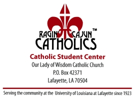 Our Lady of Wisdom logo