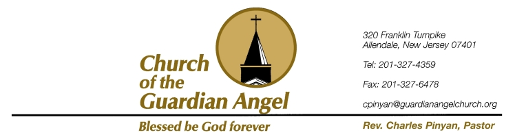 Church of the Guardian Angel logo