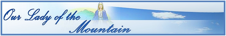 Our Lady of the Mountain logo