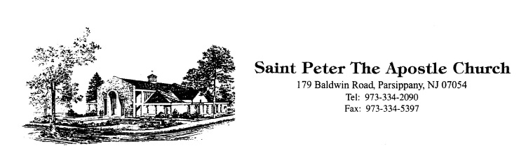 Saint Peter the Apostle logo