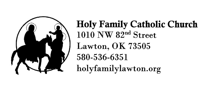 Holy Family Catholic Church logo