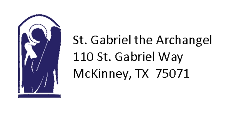 St. Gabriel the Archangel logo